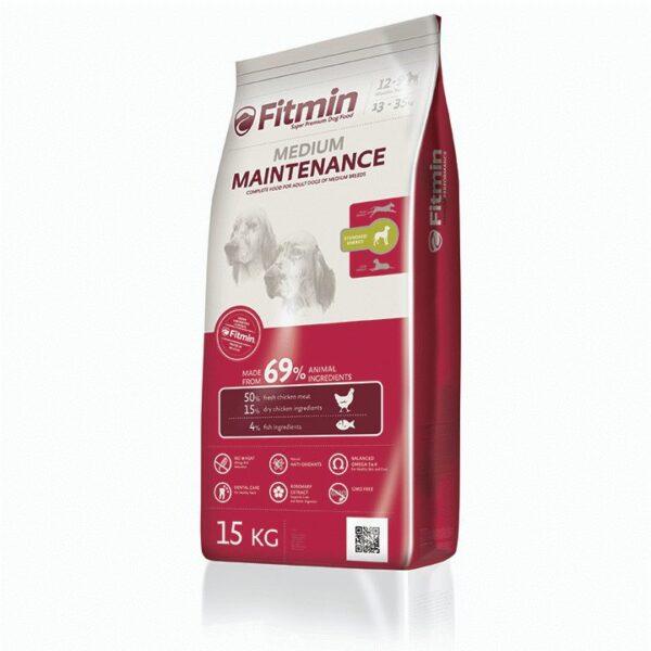 Fitmin dog Medium Maintenance, сухой корм для взрослых собак средних пород, 15 кг