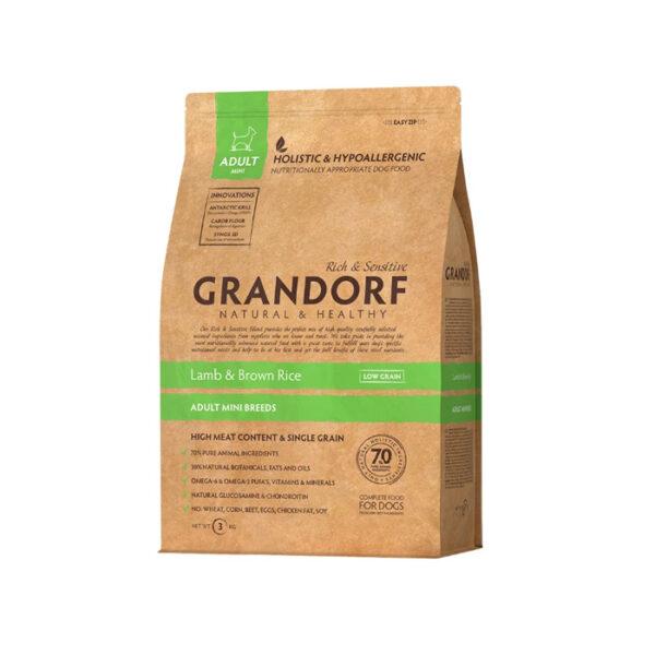 GRANDORF DOG Lamb&Rice MINI, сухой корм для собак с ягненком и рисом, 1 кг
