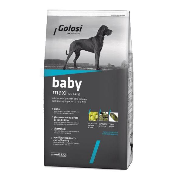 Golosi Baby Maxi, сухой корм для щенков крупных пород, 20 кг