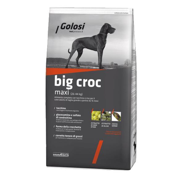 Golosi Maxi сухой корм для собак крупных пород с индейкой и рисом, 20 кг