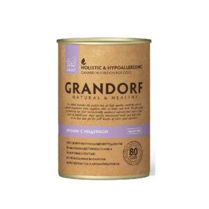 Grandorf, консервы для собак кролик с индейкой, 400 гр