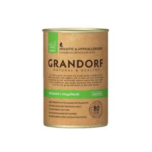 Grandorf консервы для собак ягненок с индейкой, 400 гр