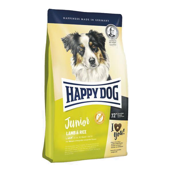 Happy Dog Junior Lamb & Rice, сухой корм для юниоров с чувствительным пищеварением, 10 кг