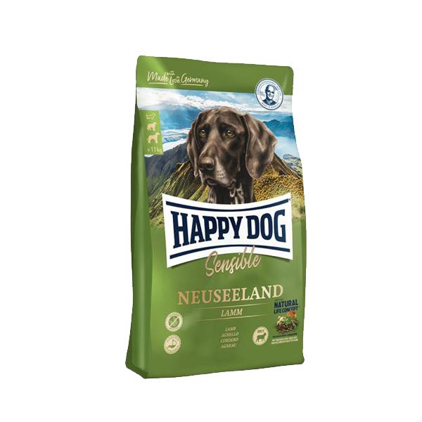 Happy Dog Neuseeland, сухой корм для собак с чувствительным пищеварением, 12.5 кг