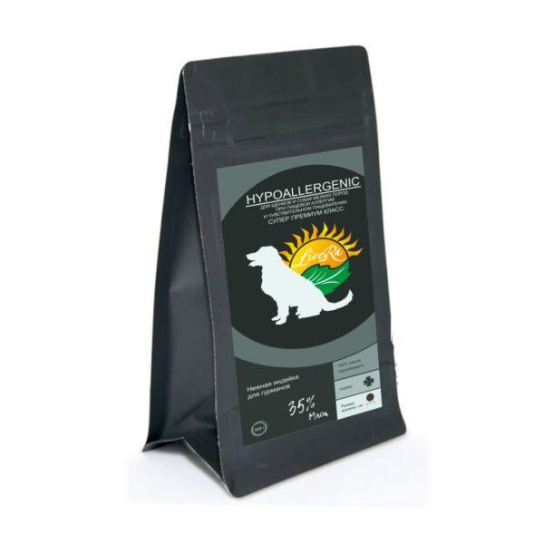 LiveRa Hypoallergenic, сухой корм для щенков и собак мелких пород с чувствительным пищеварением и аллергией, 15 кг