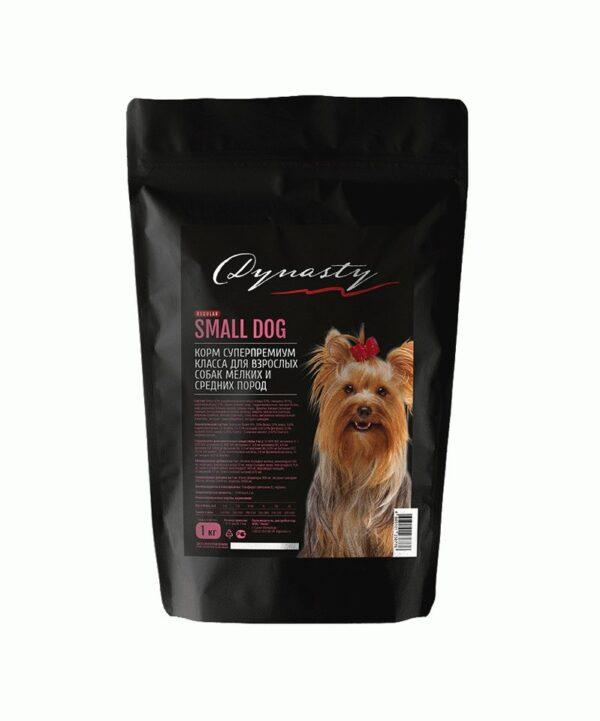 Династия, сухой корм для собак мелких и средних пород, 1 кг