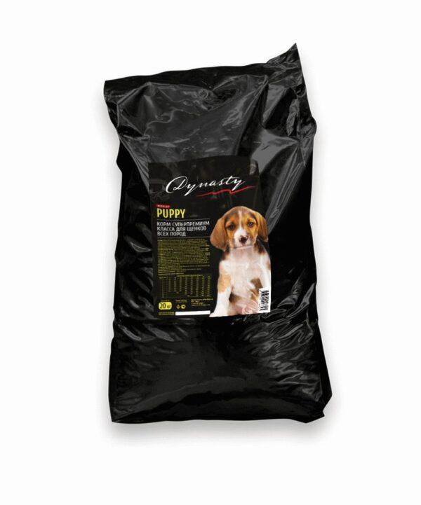 Династия, сухой корм для щенков всех пород, 20 кг