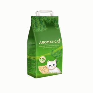 Aromaticat, древесный впитывающий наполнитель для кошачьих туалетов, 10 л
