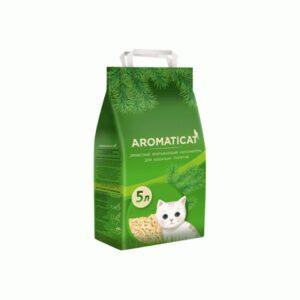 Aromaticat, древесный впитывающий наполнитель для кошачьих туалетов, 5 л
