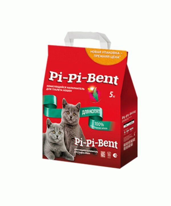 Наполнитель Pi-Pi Bent для котят, пакет, 5 кг
