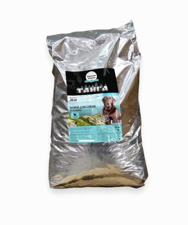 Хороший Хозяин, сухой корм для собак всех пород с ягненком и рисом, 20 кг