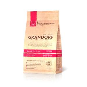 GRANDORF CAT Lamb&Rice INDOOR, корм для кошек с ягненком и рисом, 400 гр