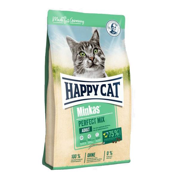 Happy Cat Minkas Perfect Mix, сухой корм для кошек, 1.5 кг