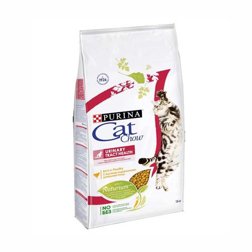 Purina Cat Chow Urinary Tract Health, корм для кошек профилактика мочекаменной болезни, 15 кг
