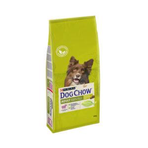 Purina Dog Chow, сухой корм для взрослых собак, с ягненком, 14 кг
