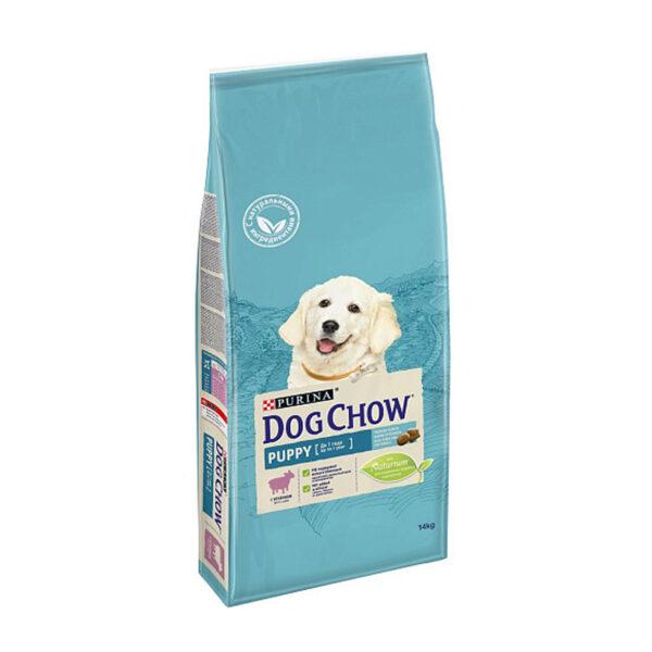 Purina Dog Chow, сухой корм для щенков крупных пород с индейкой, 14 кг
