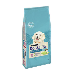 Purina Dog Chow Puppy, сухой корм для щенков всех пород c ягненком, 14 кг