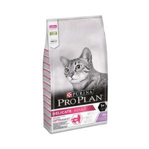 Purina Pro Plan Delicate Turkey, корм для кошек с чувствительным пищеварением с индейкой, 3 кг