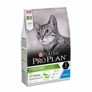 Purina Pro Plan Sterilised Rabbit, корм для стерилизованных и кастрированных кошек с кроликом, 10 кг